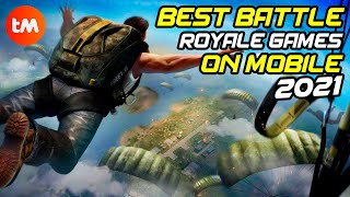 10 BATTLE ROYALE GAMES 2021 On Mobile | PUGB And FORNITE For Android 📱🎮
