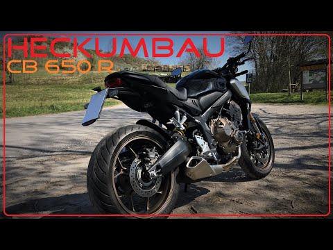 Honda CB 650 R  / Heckumbau
