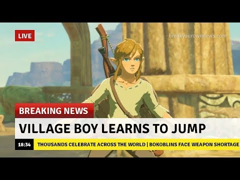 [LIVE]DESTROYING the game with INFINITE Jumps GLITCH! Boy Learns to Jump in Zelda Breath of the Wild
