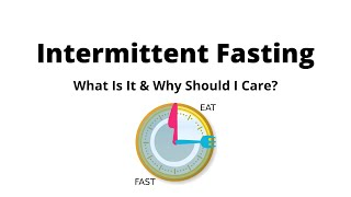 Intermittent Fasting: What is it & Why Should I Care?