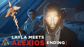 Layla Meets Alexios (First Civilization Lineage Ending) Death Scene - Assassin's Creed Odyssey