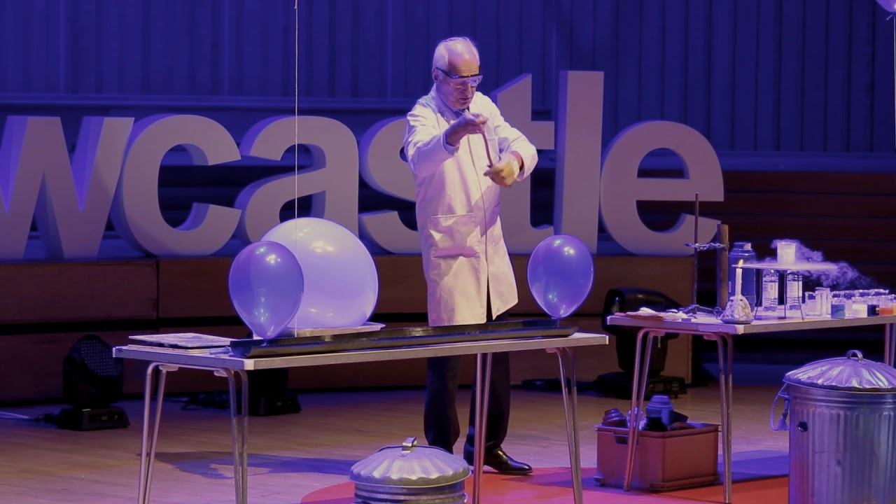 25 Chemistry Experiments in 15 Minutes by Andrew Szydlo | TEDxNewcastle