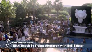 Nikki Beach St Tropez an Afternoon with Bob Sinclar 8152013