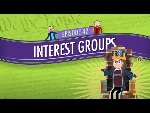 Video Interest Groups: Crash Course Government and Politics #42
