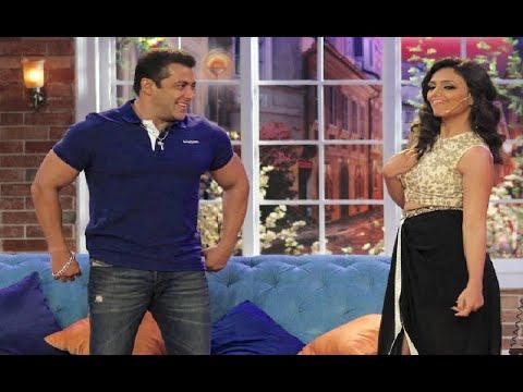 Salman Khan And Roshni Chopra In Comedy Nights Wit