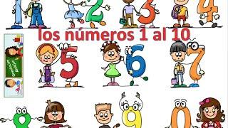 Aprendemos los números del 1 al 10 en español de forma divertida