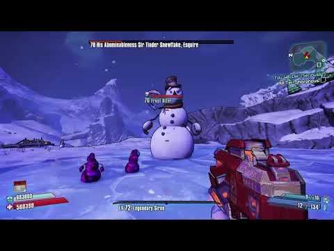 Borderlands 2 Maya Legendary Siren BUILD op4 vs Sir Tinder