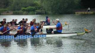 preview picture of video 'Dragon Boat Race 2009 - #1'