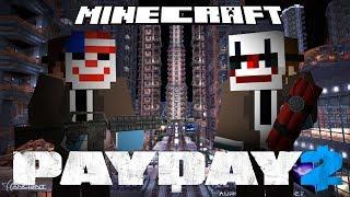 Minecraft - PAYDAY 2 - Minecraft Adventure Map