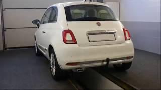 Anhängerkupplung Fiat 500 abnehmbar 1109795