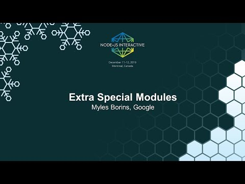 Extra Special Modules