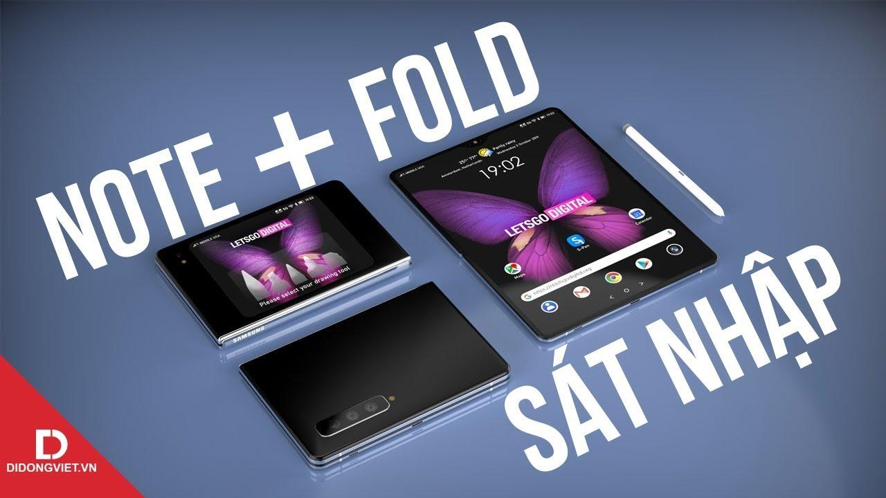 Samsung có nên hợp nhất Galaxy Fold và Galaxy Note?