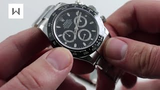 Rolex Cosmograph Daytona Ceramic 116500LN Luxury Watch Review