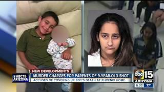Parents of boy shot, killed in Phoenix charged