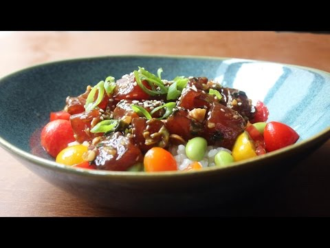 Tuna Poke Recipe – How to Make Hawaiian-Style Ahi Poke