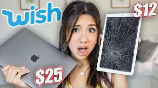I Bought A FAKE IPad And MacBook From Wish!!!