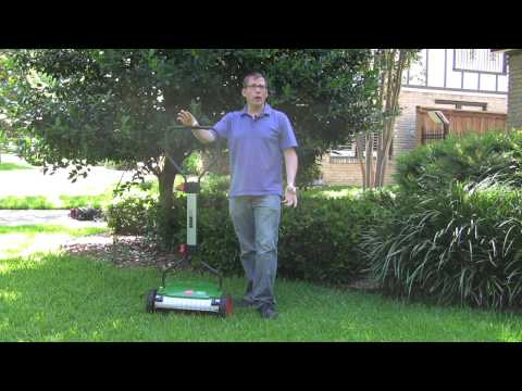 Brill Razorcut 38 Push Reel Lawn Mower Product Review
