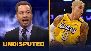 Chris Broussard expects Lakers to lean on Kuzma more with AD sidelined | NBA | UNDISPUTED