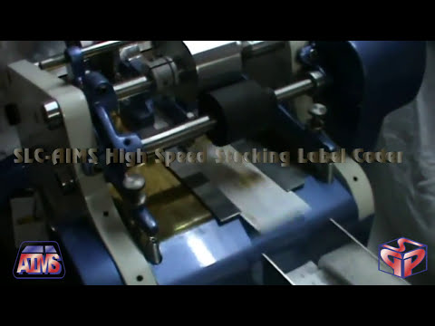 Stacking Auto Feeding High Speed Label Coder