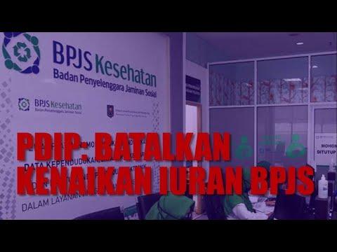 PDIP: Batalkan Kenaikan Iuran BPJS