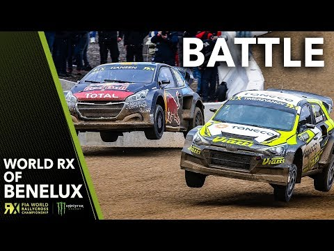 Hansen and Timerzyanov's MEGA Battle! | 2019 Spa FIA World Rallycross of Benelux
