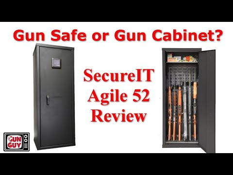 SecureIt Agile 52 Gun Cabinet Review