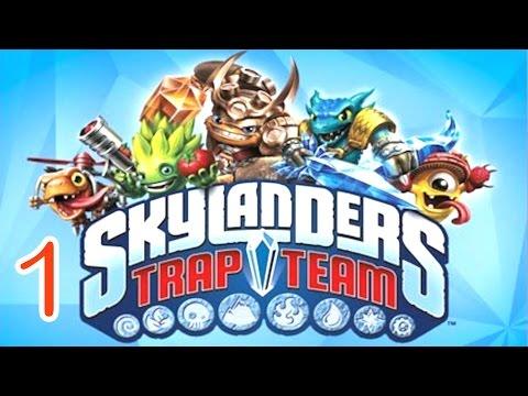 Skylanders: Trap Team - Dark Edition  walkthrough Part 1 - (PS4)