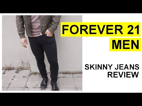 FOREVER 21 MEN SKINNY JEANS REVIEW | IS IT WORTH IT?