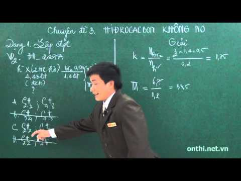Bài 3-Hydrocacbon không no