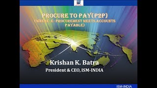 Webinar on Procure to Pay (P2P)