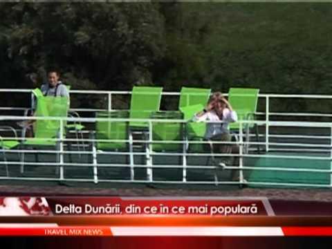 Delta Dunării, din ce în ce mai populară