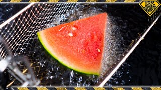 Is It a BAD IDEA to DEEP FRY Watermelon?