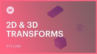 2D & 3D transforms (move, rotate, scale, and skew) - Webflow CSS tutorial