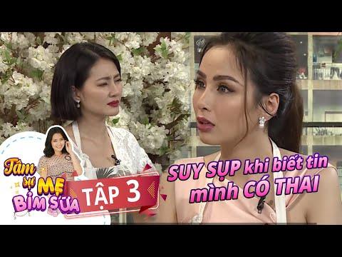 Tâm Sự Mẹ Bỉm Sữa | Tập 3 FULL | Hoa hậu Diễm Hương SUY SỤP biết tin CÓ THAI vẫn kiên cường giữ con