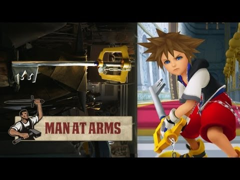 Building Sora's Keyblade (Kingdom Hearts)