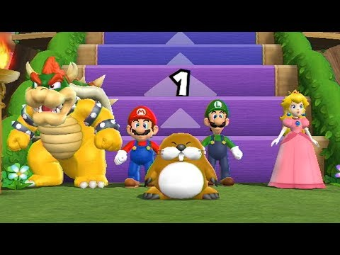 Mario Party 9 - Step It Up (Bowser Gameplay)