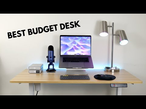 SHW ELECTRIC STANDING DESK - BEST BUDGET DESK [2020] - 4K