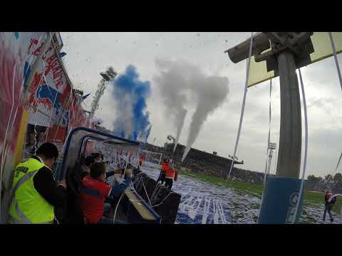 """""""Salida UC vs uch 2018"""" Barra: Los Cruzados • Club: Universidad Católica"""