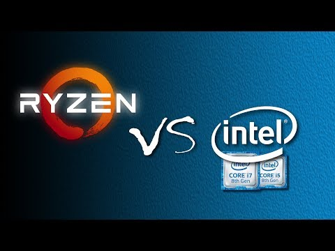 AMD Ryzen vs Intel Coffee Lake