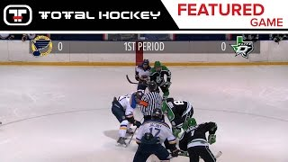 St. Louis AAA Blues VS. Dallas Stars Elite // 2001 AAA // Regular Season