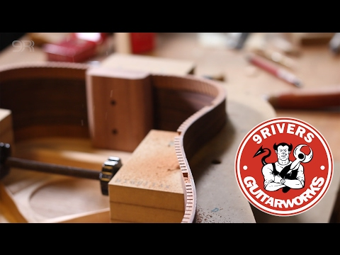 9Rivers Acoustic Guitar Making Course - YouTube