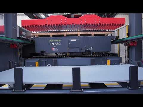 System załadunkowy Polteknik KN550 - zdjęcie