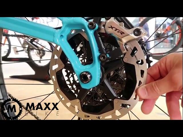 Видео Ротор Shimano XTR RT-MT900-M 180 мм