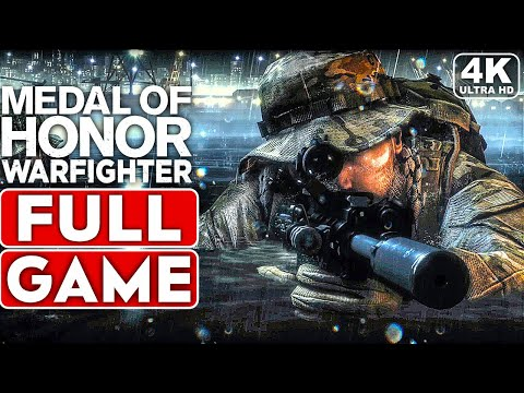 MEDAL OF HONOR WARFIGHTER Gameplay Walkthrough Part 1 FULL GAME [4K 60FPS PC ULTRA] - No Commentary