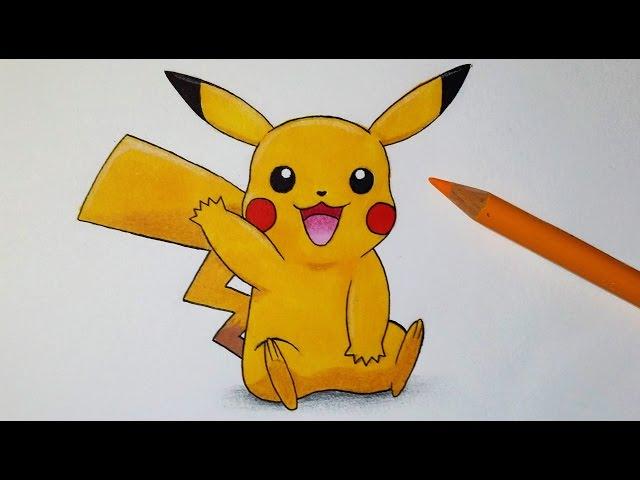 Video Comment Dessiner Pikachu Tutoriel