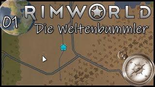 RimWorld - #1 - Cryostasis Problem - Let's Play / Gameplay