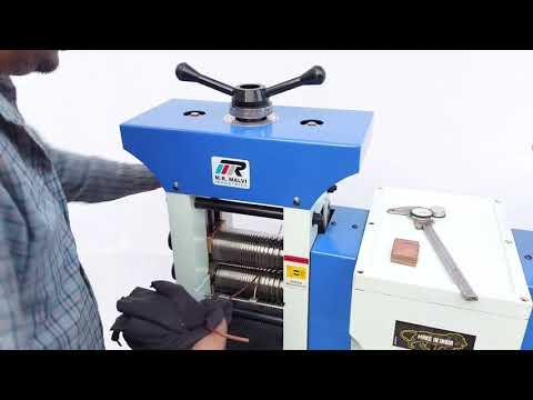 MR 127 Double Head Jewellery Rolling Machine