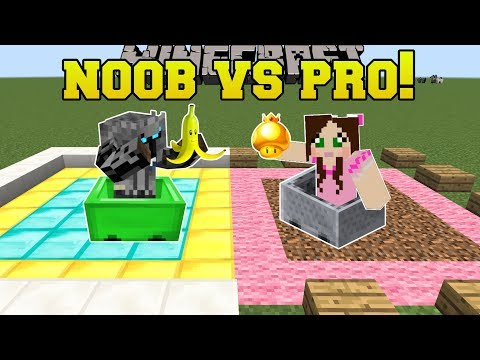 Minecraft: NOOB VS PRO!!! - MARIO KART BATTLE MODE - Mini-Game