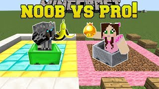 Minecraft: NOOB VS PRO!!! - MARIO KART BATTLE MODE - Mini-Game
