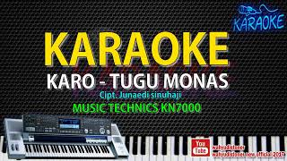 Karaoke Tugu Monas Karo Technics KN7000 HD Quality Video Lirik Tanpa Vocal 2018